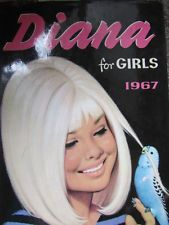 Vintage diana annual Have this but bought second hand so no dust cover. 1970s Childhood, My Childhood Memories, White Blonde Hair, We Are Young, Past Life, Adolescence, Bibliophile, Growing Up, Love Her