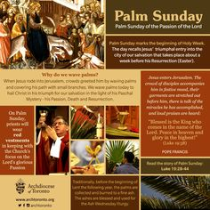 What is #PalmSunday