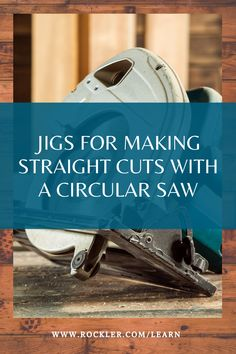 Circular Saw Jig, Circular Saw Reviews, Beginner Woodworking Projects, Woodworking Jigs, Carpentry, Rip Cut, Closet System, Weekend Projects, Wood Working For Beginners