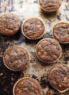 Gluten Free Muffins, Healthy Muffins, Gluten Free Baking, Healthy Treats, Gluten Free Recipes, Healthy Recipes, Baking Recipes, Flour Recipes, Healthy Breakfasts