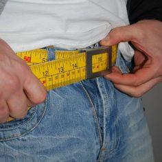 Diät-Gürtel mit Maßband