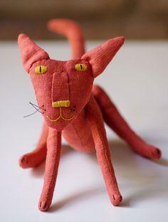 Agrumi. Il gatto arancione. di adatine su Etsy