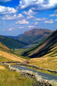 Kirkstone Pass, Lake District, England by lesvictor Landscape Photos, Landscape Photography, Nature Photography, Cumbria, Lake District, British Countryside, Stonehenge, Places Of Interest, Beautiful Landscapes