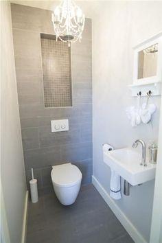 Space Saving Toilet Design for Small Bathroom - Home to Z Space Saving Toilet, Small Toilet Room, Bathroom Plumbing, Bathroom Toilets, Simple Bathroom, Modern Bathroom, Bathroom Ideas, Bathroom Small, Cloakroom Ideas