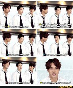 Oh Kai... lol #EXO