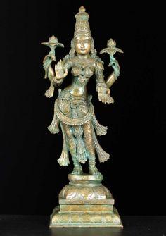 """SOLD Bronze Dancing Ganesh on Kalinga 24"""""""