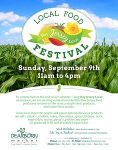 Local Food Festival.