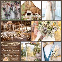 Country barn shabby wedding