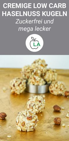 Low Carb Giotto – Zuckerfrei naschen leicht gemacht Do you want to snack sugar-free and eat a healthy diet? Then these low carb Giotto balls are just right for you. Healthy, sugar-free and delicious! Sugar Free Snacks, No Bake Snacks, Sugar Free Recipes, Cookie Recipes, Low Carb Desserts, Low Carb Recipes, Menu Dieta, Snacks Sains, Dieta Paleo