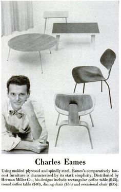 Charles Eames (1948) by nurse_marbles, via Flickr