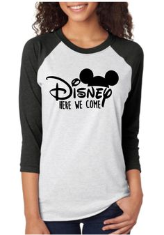 "Thank you for stopping by my shop! I am excited to have you here! Disney Addicts this top is for you! My ""I'm done Adulting, Let's go to Neverland"" Raglan is perfect for your Disney trip or if you ar Disney Shirts For Family, Disney Family, Family Shirts, Disney World Vacation, Disney Vacations, Disney Trips, Disney 2017, Disney Diy, Disney Ideas"