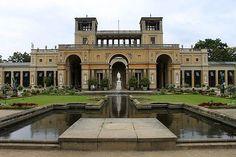 Orangerie in Park Sanssouci, #Germany #park #beautifulplaces
