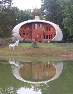 Cloudland's Monolithic Dome Home ~ETS #architecture