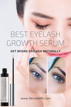 Dermalmd eyelash serum is the best eyelash growth serum for sensitive eyes Best Eyelash Growth Serum, Eyelash Serum, How To Grow Eyelashes, Natural Eyelashes, Sensitive Eyes, Rosacea, Chemist, Fragrance, Shop