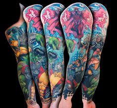 #superhero #tattoo #tattoos #ideas #designs #men #formen #menstattooideas