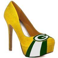 Where do I get Green Bay Packer high heels?!