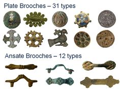 Anglo Saxon Brooch Types
