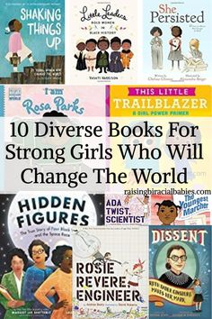 books for strong girls | diverse books for girls | books with diversity |
