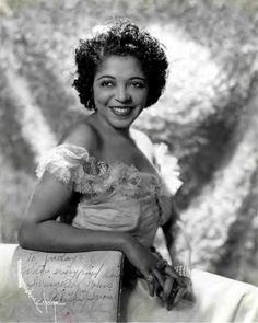 """Ultra Talented Jazz Baby Valaida Snow played 10 Instruments like a Pro and was so Incredible on the Trumpet that Big Jazz Poppa, Louis Armstrong himself, dubbed Valaida, """"Little Louis"""" and claimed her to be the second best Trumpet Player in the world after himself! She also Sang and Danced like a Dream and had young men begging for her affection!"""
