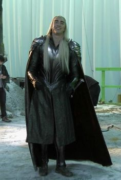 The Hobbit : the Battle of the Five Armies behind the scenes BTS - Lee Pace as Thranduil