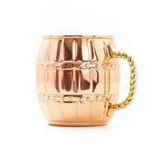 Fab.com | Barrel Moscow Mule Mug 4 Pack