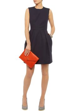 Iris & Ink Cotton-crepe mini dress - 0% Off Now at THE OUTNET