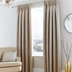 Excellent collection of ready made pencil pleat curtains perfect for all rooms in your home. Fully lined pencil pleat curtains and blackout pencil pleat curtains, all available from Dunelm. Black Curtains, Kids Curtains, Cool Curtains, Curtains For Sale, Curtains For Bedroom Window, Cream Curtains, Bedroom Decor, Pinch Pleat Curtains, Pleated Curtains