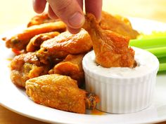 Really Good Oven-Fried Buffalo Wings