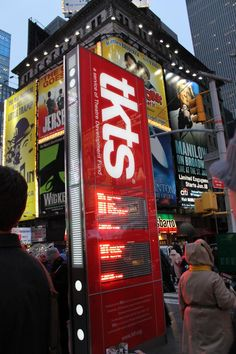 Discounted day-of Broadway tickets NYC