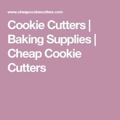 Cookie Cutters   Baking Supplies   Cheap Cookie Cutters