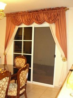 1000 images about cortinas on pinterest window for Cortinas de comedor