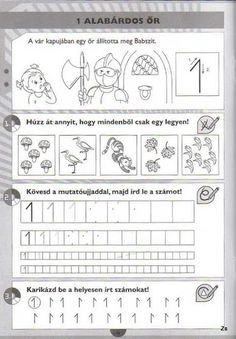 Kispilóta- Számírka - Kiss Virág - Picasa Webalbumok Prewriting Skills, Paper Trail, Pre Writing, Writing Numbers, Little Learners, Math For Kids, Elementary Teacher, In Kindergarten, Toddler Activities