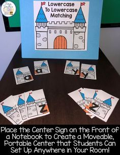 Would You Like An Alphabet Center For One Of Your Literacy Centers For The Entire Year? - Fern Smith's Classroom Ideas! Free Teaching Resources, Teaching Jobs, First Grade Teachers, New Teachers, Reading Centers, Literacy Centers, Kindergarten Classroom, Classroom Ideas, Center Signs