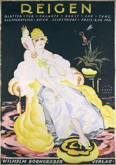 By Jupp Wiertz (1888-1939), 1922, Reigen. (G)