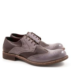 Handmade italian leather brogues shoes for men - Italian Boutique €304