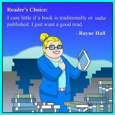 ebooks. Rayne Hall about the pleasures and secrets of reading books.