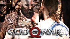 God Of War - O Primeiro CHEFÃO do Jogo, Luta Incrivel Contra o Estranho (Gameplay PT BR PS4 PRO)