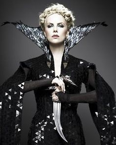 Charlize Theron Evil Queen - Have never rooted so hard in a movie for the bad guy to win.