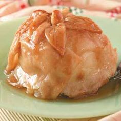 Apple Dumplings with Sauce Recipe  -it's that time of year!