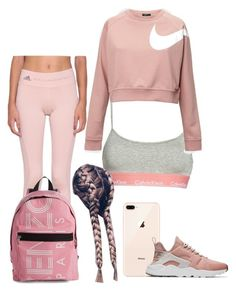 """""""Outfit for fitness"""" by xxpernischxx on Polyvore featuring Calvin Klein, adidas, NIKE and Kenzo"""