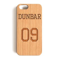"""iPhone 7 Wood Case, Teen Wolf Liam Dunbar Inspired Jersey Wood-Pattern Case For iPhone 7 case 4.7"""""""