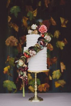 Autumn Country House Wedding Inspiration. Stationery, styling and concept by Lizzy May Design, photography by Chris Scuffins.