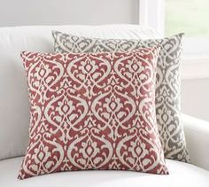Ingrid Ikat Print Pillow Cover