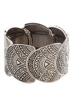 Bracelets & Watches - Art Deco Exhibition Bracelet