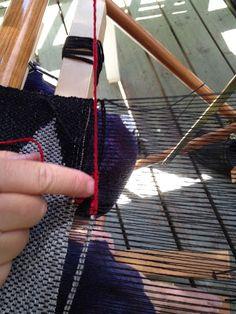 CENTERING WITH FIBER: New Saori weaver
