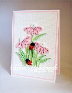 Fleurs d'été Am hotarat sa realizez o mini colectie de felicitari cu flori de vara in diferite culori. Sper sa va fie pe plac! Fle...