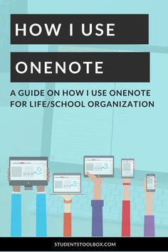 This is how I organize my classes, online courses, blogging, readings and more on OneNote!