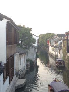 周庄古镇 The Ancient Town of Zhouzhuang in 江苏