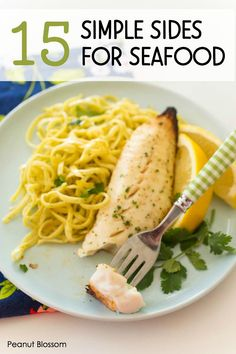 15 simple side dishes for fish: Wondering what to eat with fish for dinner? Look no farther than your freezer & pantry. These 15 easy side dishes for seafood will help you get dinner on the table in 25 minutes or less. Fish Recipes For Kids, Easy Easter Recipes, Best Fish Recipes, Easter Dinner Recipes, Healthy Crockpot Recipes, Seafood Recipes, Potato Recipes, Easy Recipes, Meatless Recipes