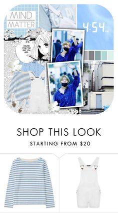 """Wide-eyed, you look at me"" by bangtan-life ❤ liked on Polyvore featuring Uniqlo, WearAll and Converse"